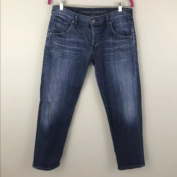 Citizens Of Humanity Denim - Citizens Of Humanity Womens Size 28 Skylar Crop Bf